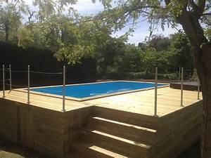 Piscine Hors Sol En Bois Pas Cher : piscine hors sol bois pas cher castorama ~ Premium-room.com Idées de Décoration