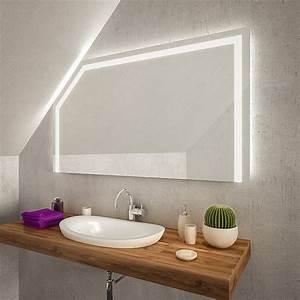 Badspiegel Mit Tv : gualaca led badspiegel mit dachschr ge online kaufen ~ Eleganceandgraceweddings.com Haus und Dekorationen