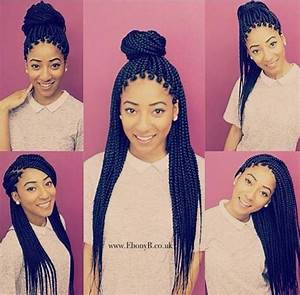 Different Ways To Style Box Braids Looking For Hair