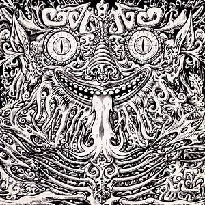 Psychedelic Art Black And White