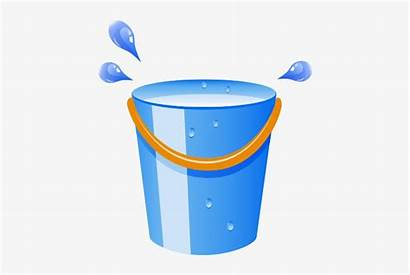 Bucket Water Clipart Clip Transparent Library Cleaning