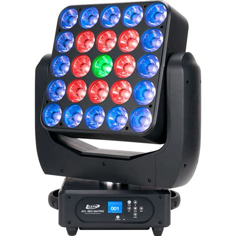 elation professional acl 360 matrix led moving acl001