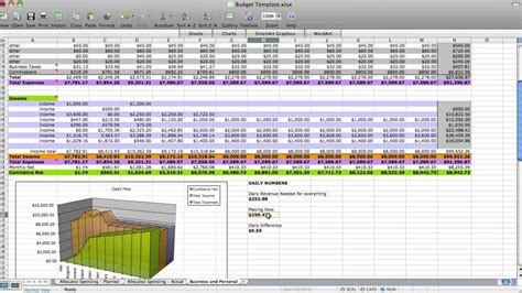 Dave Ramsey Budget Spreadsheet Excel Spreadsheets