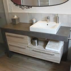salle de bain avec vasque a poser meuble salle de bain vasque a poser