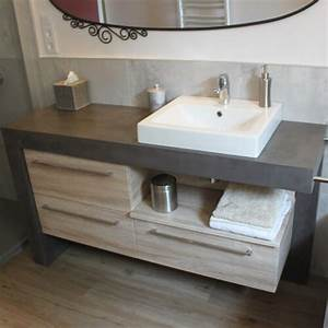 vasques a poser atlantic bain With salle de bain design avec lavabo à poser rectangulaire