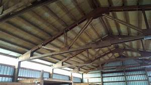 buying a used pole building hansen buildings With 40 ft metal trusses