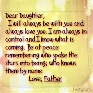 Dear Daughter Poems