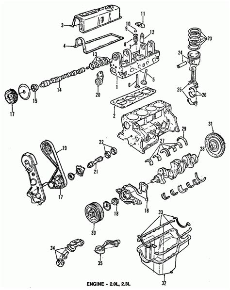 Ford Ranger 4 0 Engine Exploded Diagram by 1996 Ford Ranger Parts Diagram Automotive Parts Diagram