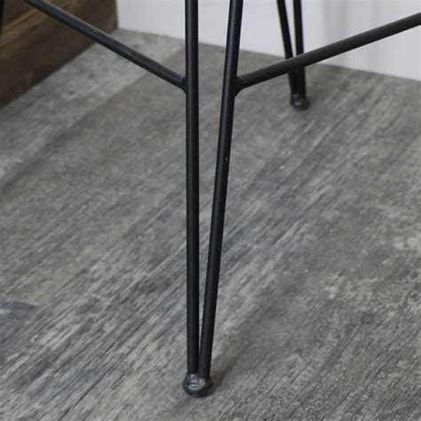 Tall Black Metal Wire Bar Stool  Melody Maison®
