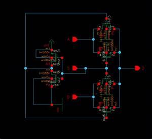 8 1 Mux Using Transmission Gates