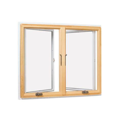 andersen       series casement wood window  white exterior cn lr