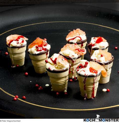 am駭ager sa cuisine honig pfeffer eis auf grapefruitsalat kochmonster deutschlands erstes kochportal für männer