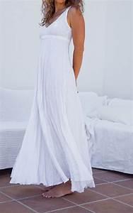 long white linen dress maxi high waistline summer With white maxi dress for beach wedding