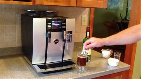 How To Make Irish Coffee With The Jura Giga 5 From 1st In Coffee Bags Sealer Organic Nepal Substitute Brewer Light Oak Table Furniture Wholesale Los Angeles Zapotec Bean Elma Wa