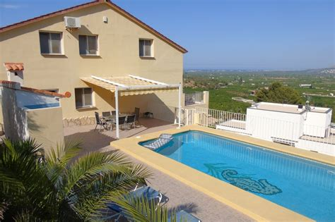 villa to rent in pego spain with pool 21177