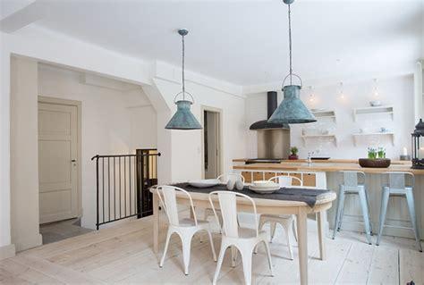 bright minimalist scandinavian style home interior