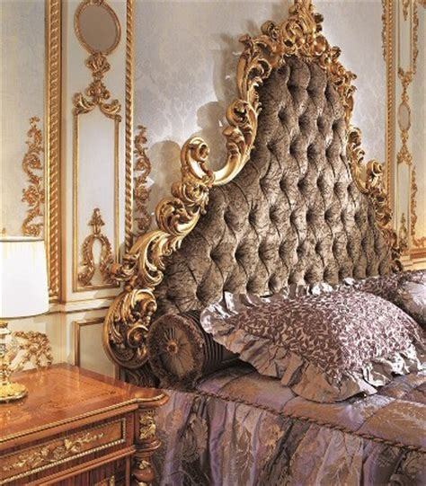 italian capitone bedroom  baroque style top