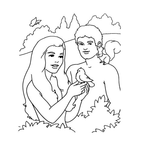 free coloring pages of 6th day creation