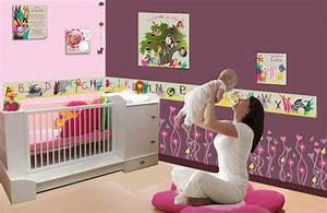 Deco Chambre Bebe Fille : decoration chambre bebe fille originale ~ Teatrodelosmanantiales.com Idées de Décoration