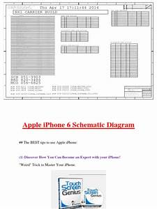 Apple Iphone 6 Schematic Diagram