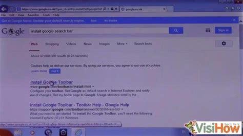 install  google toolbar  internet explorer  visihow