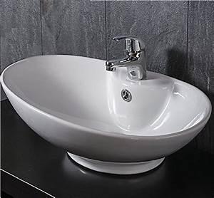 Waschbecken Oval Aufsatz : waschtische von prieser und andere tische f r badezimmer online kaufen bei m bel garten ~ Orissabook.com Haus und Dekorationen