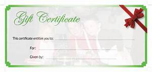 generic gift certificate template quotes With generic gift certificate template