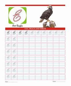 Capital Cursive Letters E Printable Coloring Worksheet