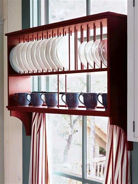 storing plates 15 creative ideas to organize dish and plate storage on your kitchen shelterness