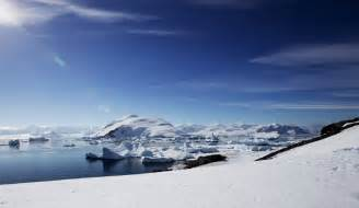 Antarctica Lake Under Ice