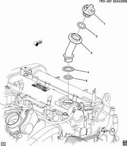 Chevrolet Hhr Tube  Engine Crankcase  Tube  Oil Fil