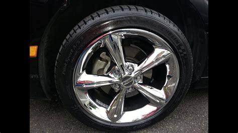 plasti dip protects  chrome wheels   winter