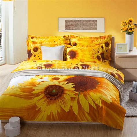 images  sunflower bedroom  pinterest cotton
