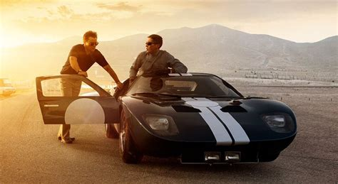 Christian bale and matt damon in ford v ferrari and ken miles with carroll shelby. The New Ford v. Ferrari Movie, The History Behind It, and Why That GT40 On the IMAX Poster is ...