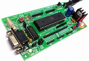 Buy 8051 Project Board And Usb Isp 8051 Avr Programmer