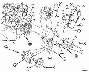I Need The Drive Belt Routing For A 1995 Ford Mustang 5 0