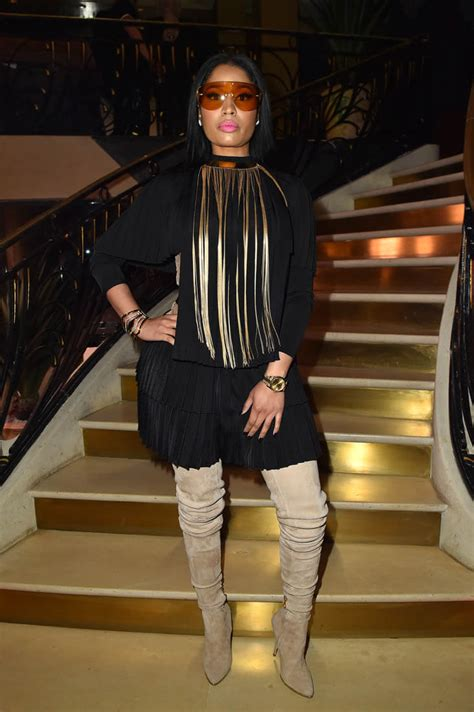 nicki minaj  paris fashion week  remy ma releases