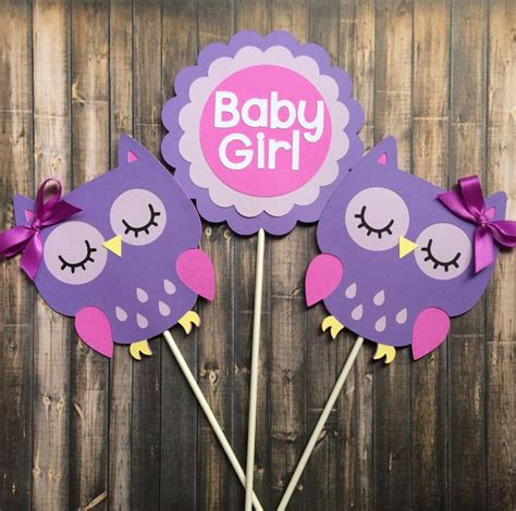 baby girl centerpieces ideas  pinterest baby