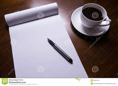 sheet  paper    desk stock images image