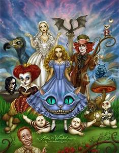Characters Of Alice | Tim Burton | Pinterest