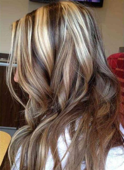 great brown hair  blonde highlights ideas