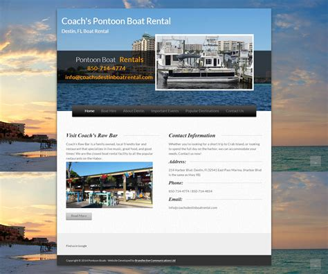 Pontoon Boat Rental In Ct by Cheap Business Websites Brandlective Communications Ltd