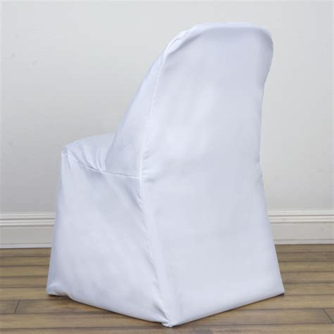 10 polyester folding chair covers wedding
