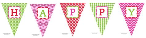 Happy Birthday Decorations Printable by Free Printable Happy Birthday Banner Anders Ruff Custom