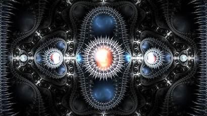 Psytrance 3d Abstract Machine Galaxy Weird