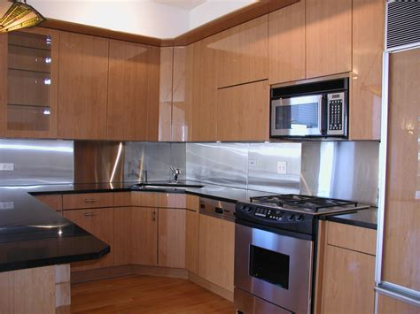 stainless steel kitchen backsplashes stainless steel kitchen backsplash ideas considering