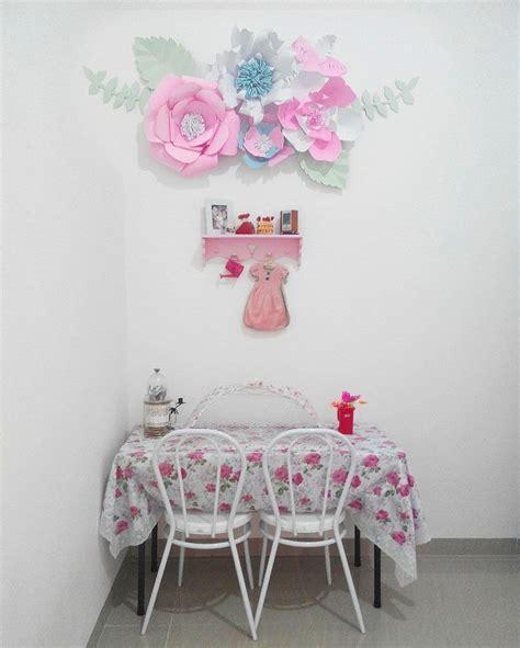 ide membuat hiasan dinding berbentuk bunga