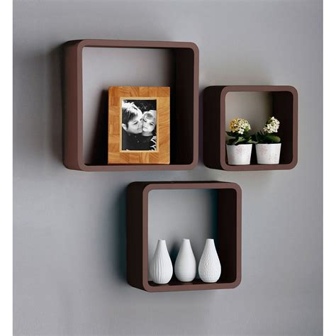 Black Wall Cube Shelves 29 99 With Free Delivery