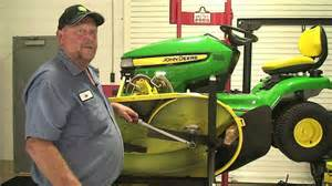 don t know ask joe replacing belt on a x300 john deere