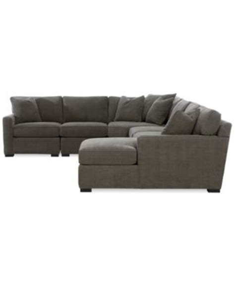 radley 5 fabric chaise sectional sofa furniture macy s